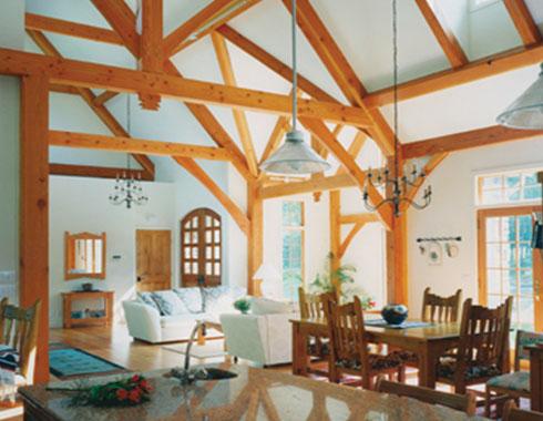 Timber frame ct for Timber frame sunroom addition